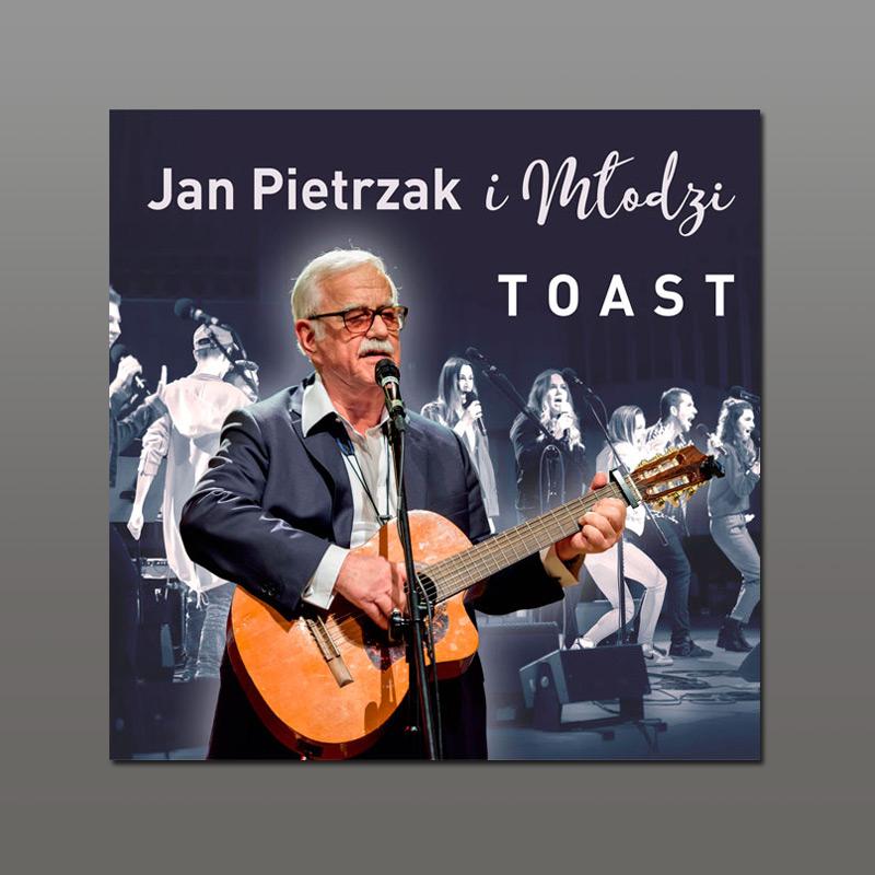 okładka płyty Toast Pietrzak i młodzi